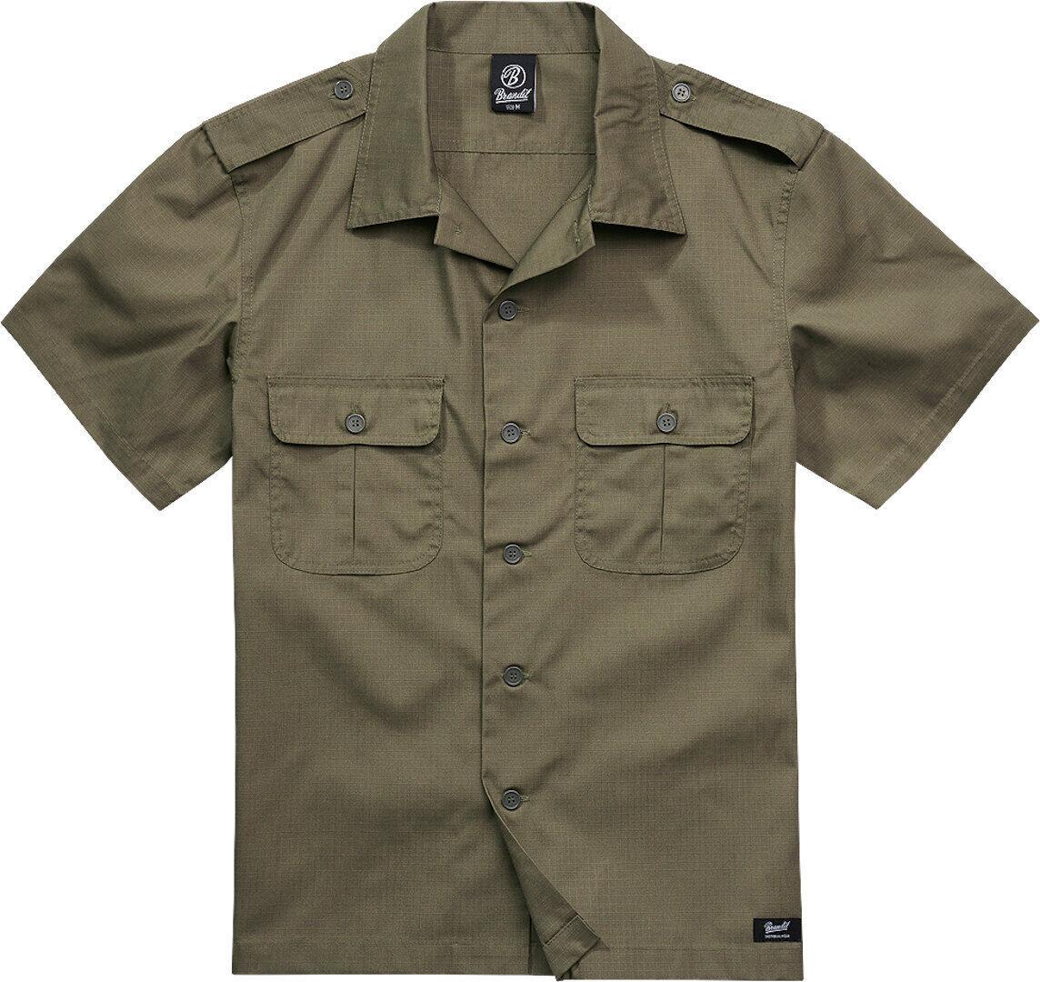 Brandit US Ripstop Paita  - Vihreä - Size: 3XL