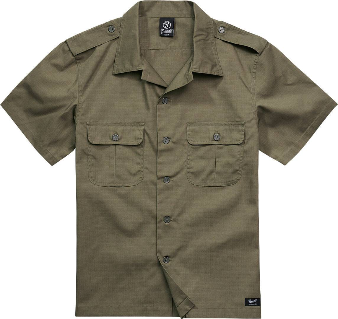 Brandit US Ripstop Paita  - Vihreä - Size: 4XL