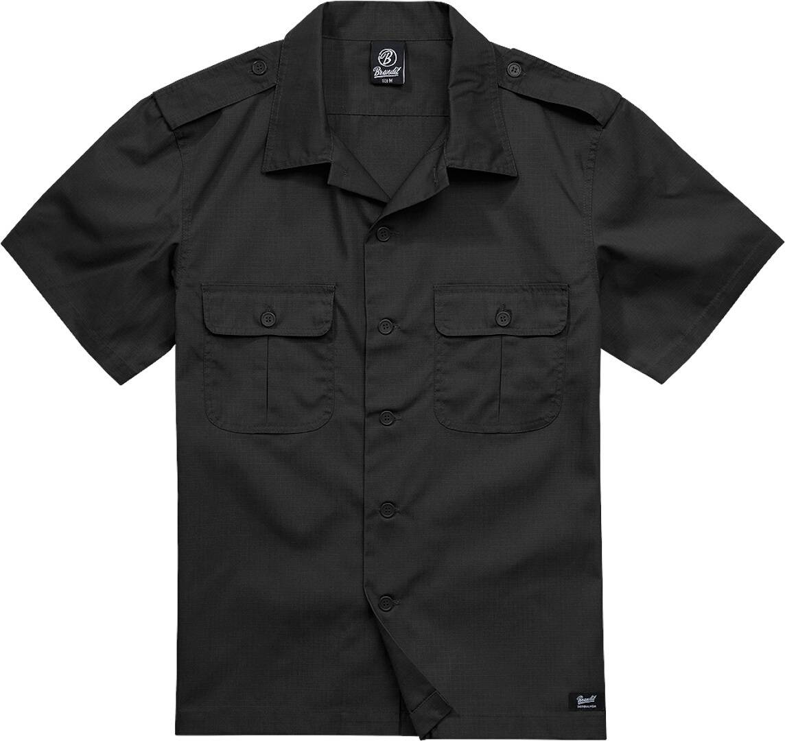 Brandit US Ripstop Paita  - Musta - Size: S