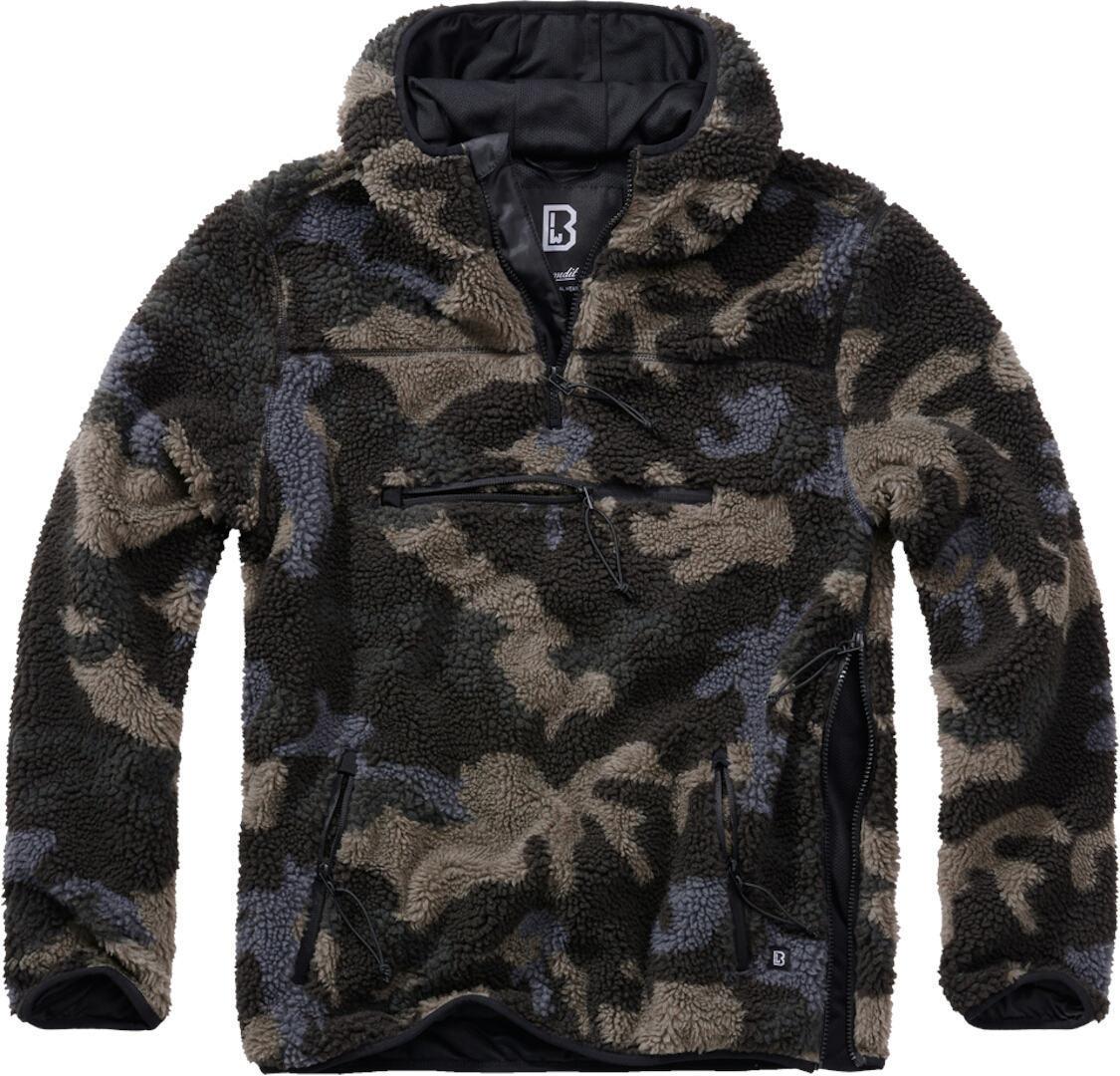 Brandit Teddyfleece Worker Pullover  - Monivärinen - Size: L