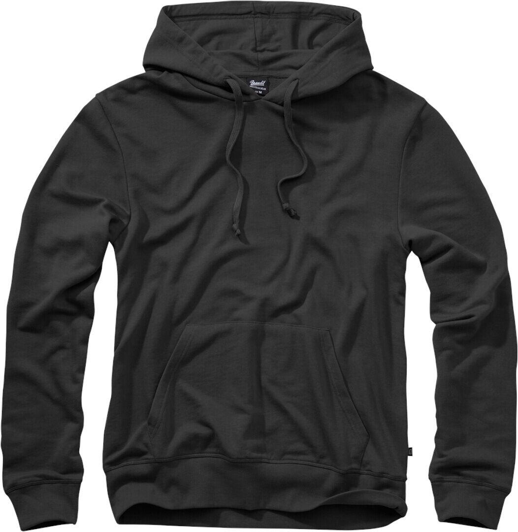 Brandit Sweathoody Huppari  - Musta - Size: 5XL