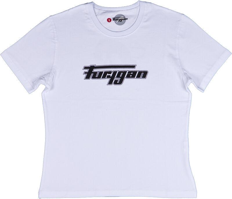 Furygan T.S. Lady MC Naisten T-paita  - Valkoinen - Size: XL