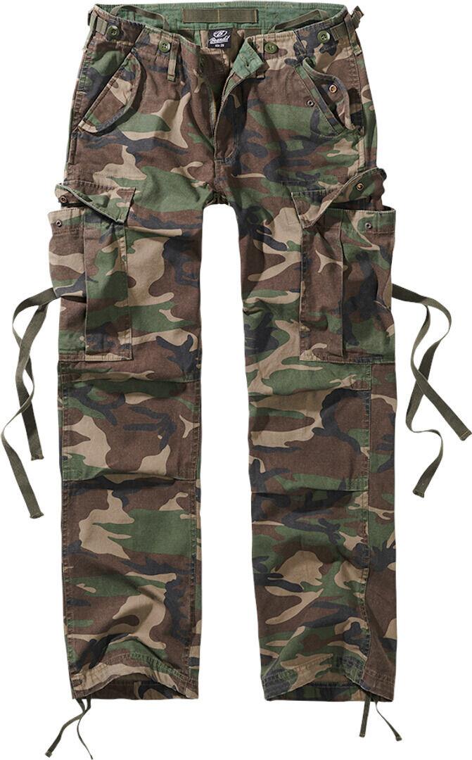 Brandit M-65 Naisten housut  - Vihreä - Size: 29