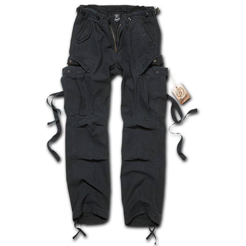 Brandit M-65 Naisten housut  - Musta - Size: 32