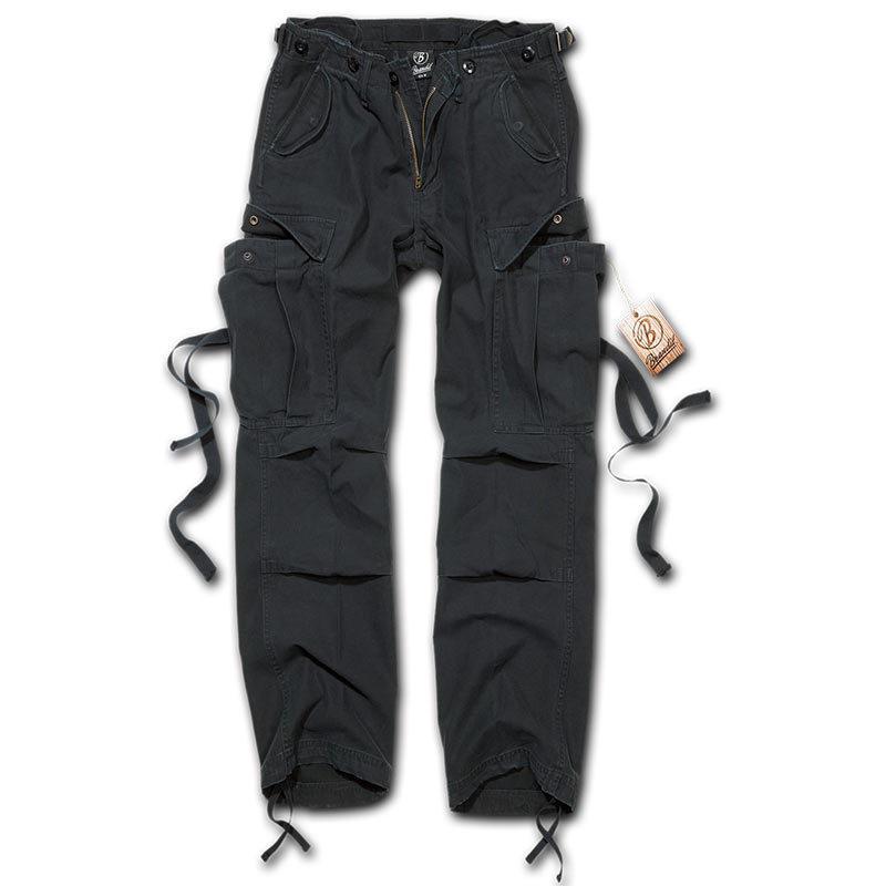 Brandit M-65 Naisten housut  - Musta - Size: 35