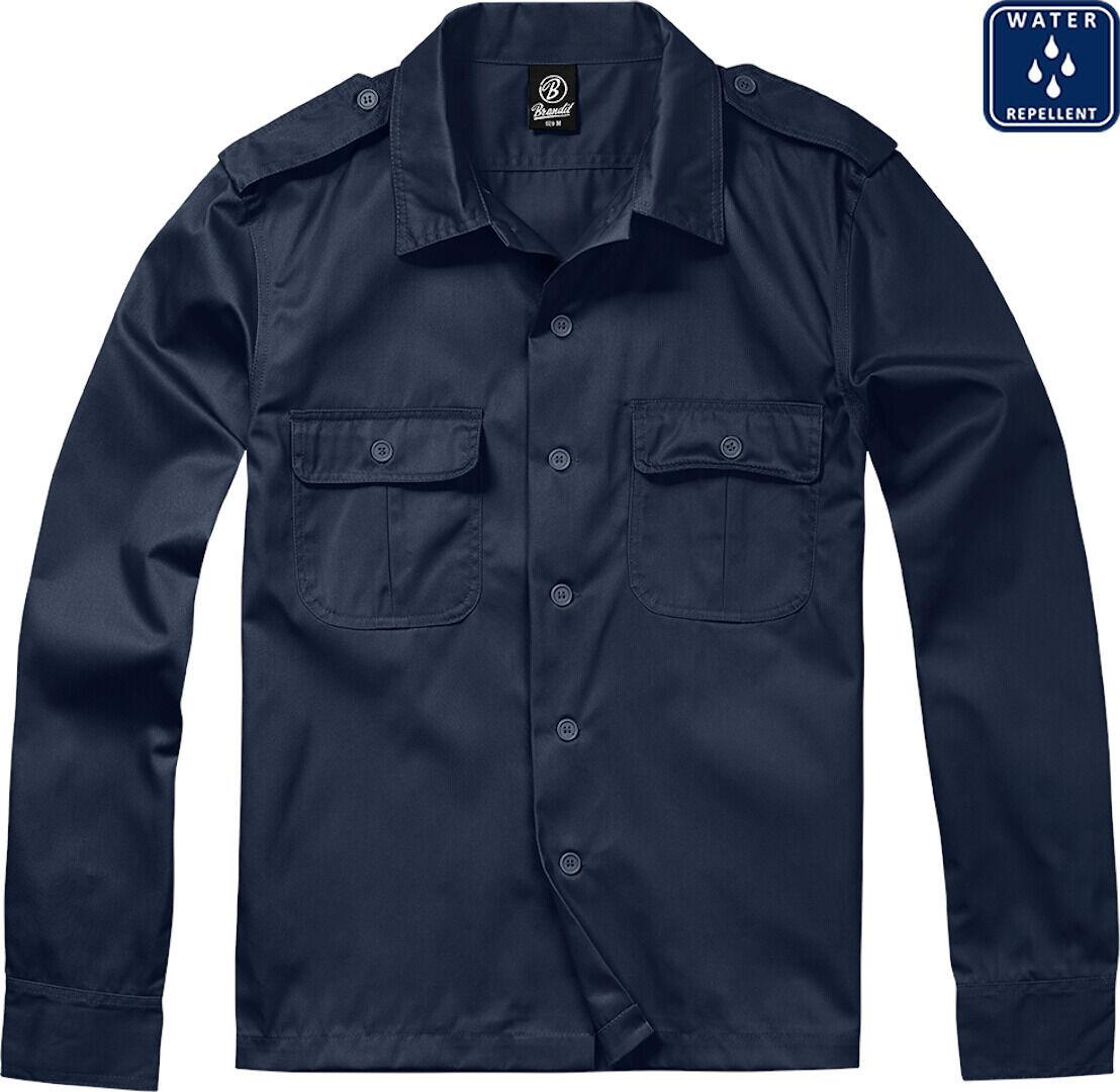 Brandit US pitkähihainen paita  - Sininen - Size: 5XL