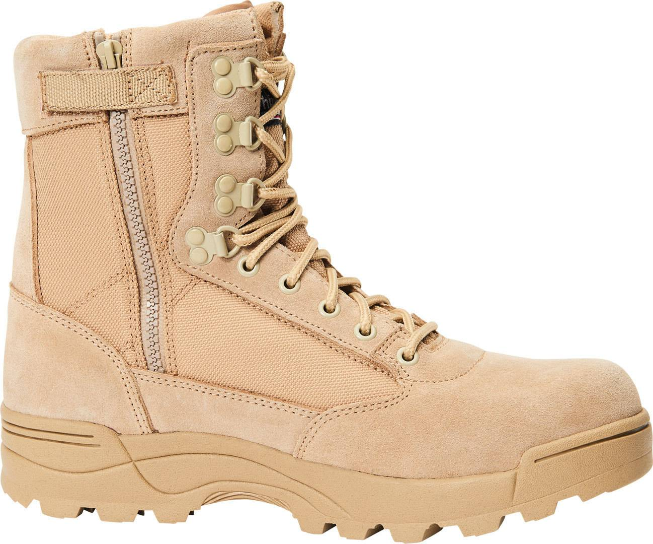 Brandit Zipper Tactical Saappaat  - Beige - Size: 39