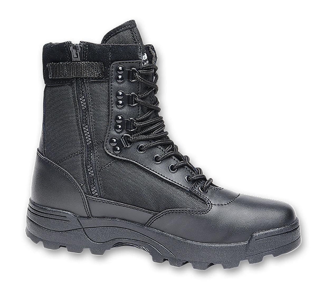 Brandit Zipper Tactical Saappaat  - Musta - Size: 43