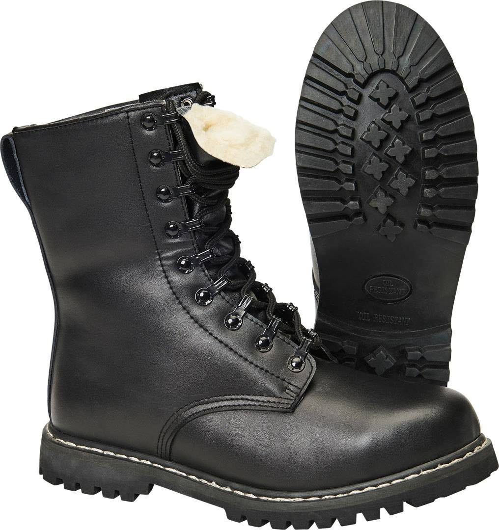 Brandit Para Saappaat  - Musta - Size: 40
