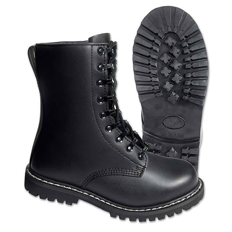 Brandit Para Saappaat  - Musta - Size: 38
