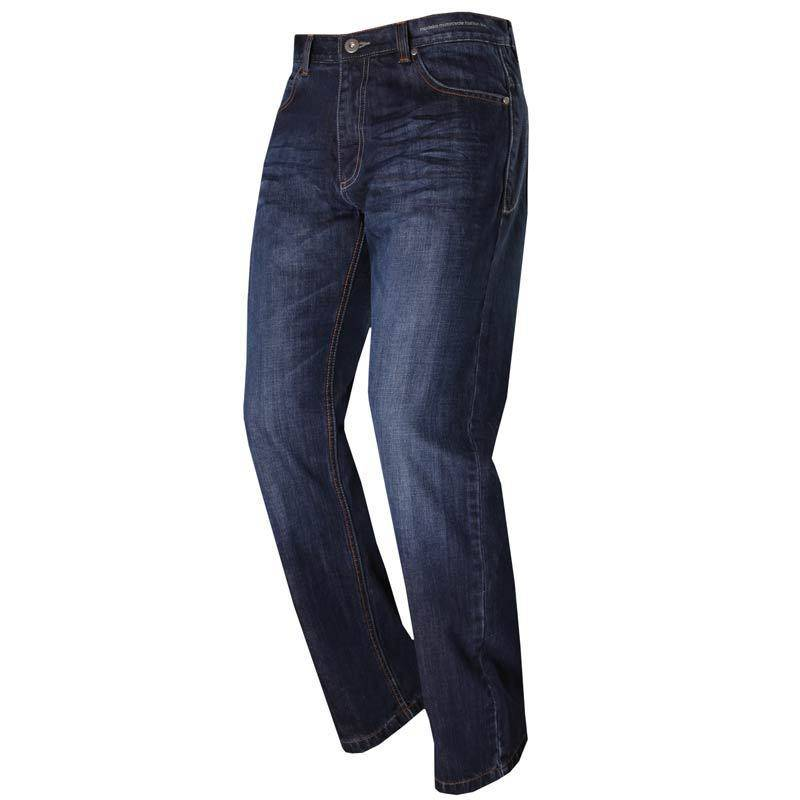 Modeka Denver II Pro Textil housut  - Sininen - Size: 34