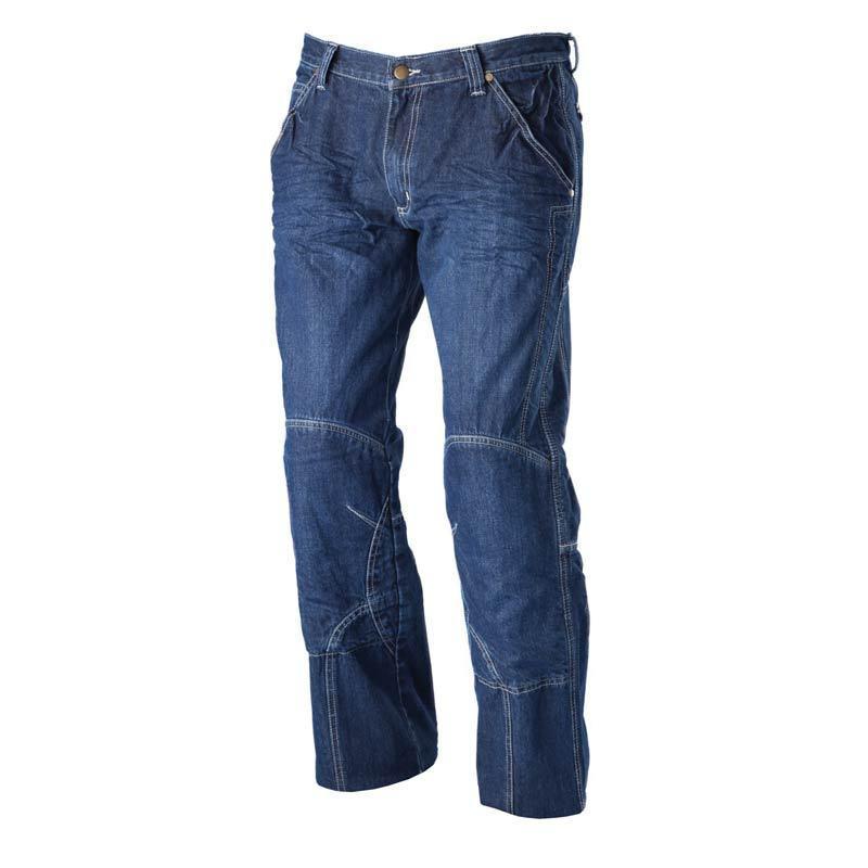 Modeka Denver II Textil housut  - Sininen - Size: 28