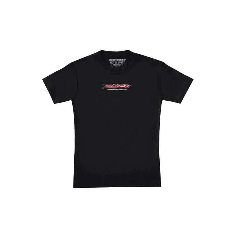 Spidi Sketch T-paita-naiset  - Musta - Size: M