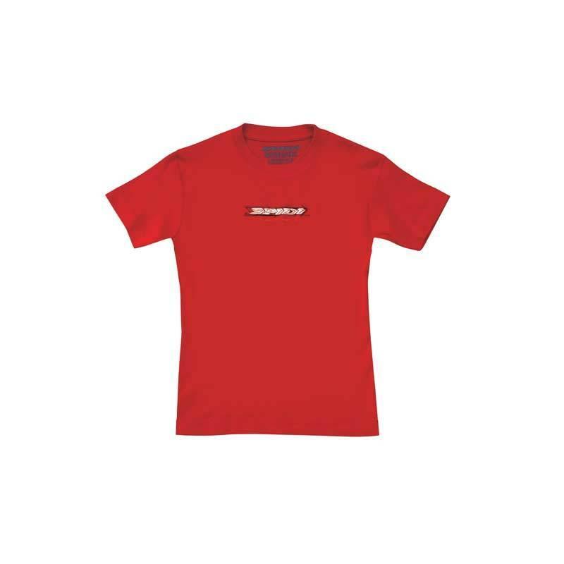 Spidi Sketch T-paita-naiset  - Punainen - Size: M