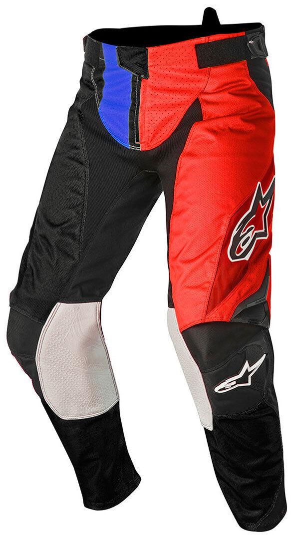 Alpinestars Techstar Factory Motocross housut 2016  - Musta Punainen Sininen - Size: 28