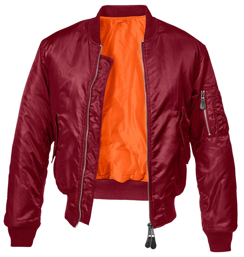 Brandit MA1 Classic Takki  - Punainen - Size: S