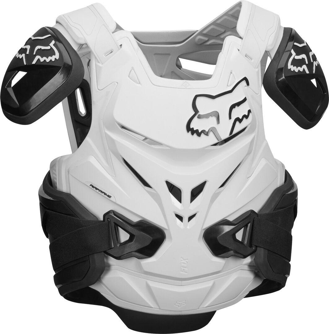 FOX Airframe Pro Protector liivi  - Musta Valkoinen - Size: S M