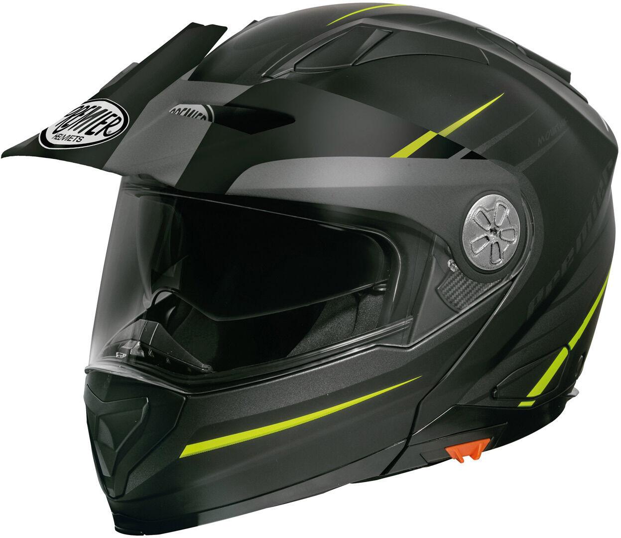 Premier Xtrail MOY BM Helmet Kypärä  - Musta Vihreä - Size: L