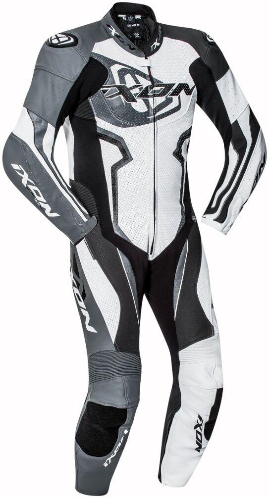 Ixon Falcon Yksiosainen puku  - Musta Harmaa Valkoinen - Size: L