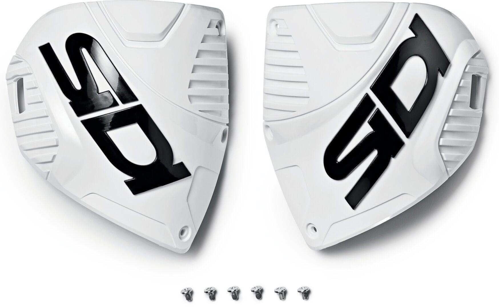 Sidi Crossfire 3 Shin Plates Shin Lautaset  - Valkoinen - Size: yksi koko