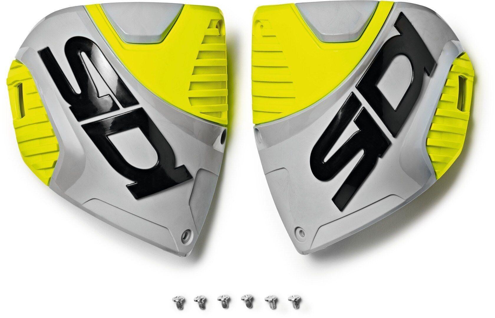 Sidi Crossfire 3 Shin Plates Shin Lautaset  - Keltainen - Size: yksi koko