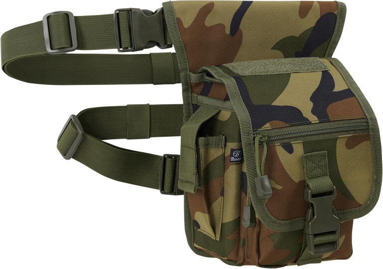 Brandit Side Kick Bag Vyötärö pussi  - Vihreä - Size: yksi koko