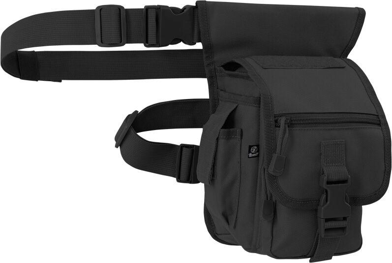 Brandit Side Kick Bag Vyötärö pussi  - Musta - Size: yksi koko