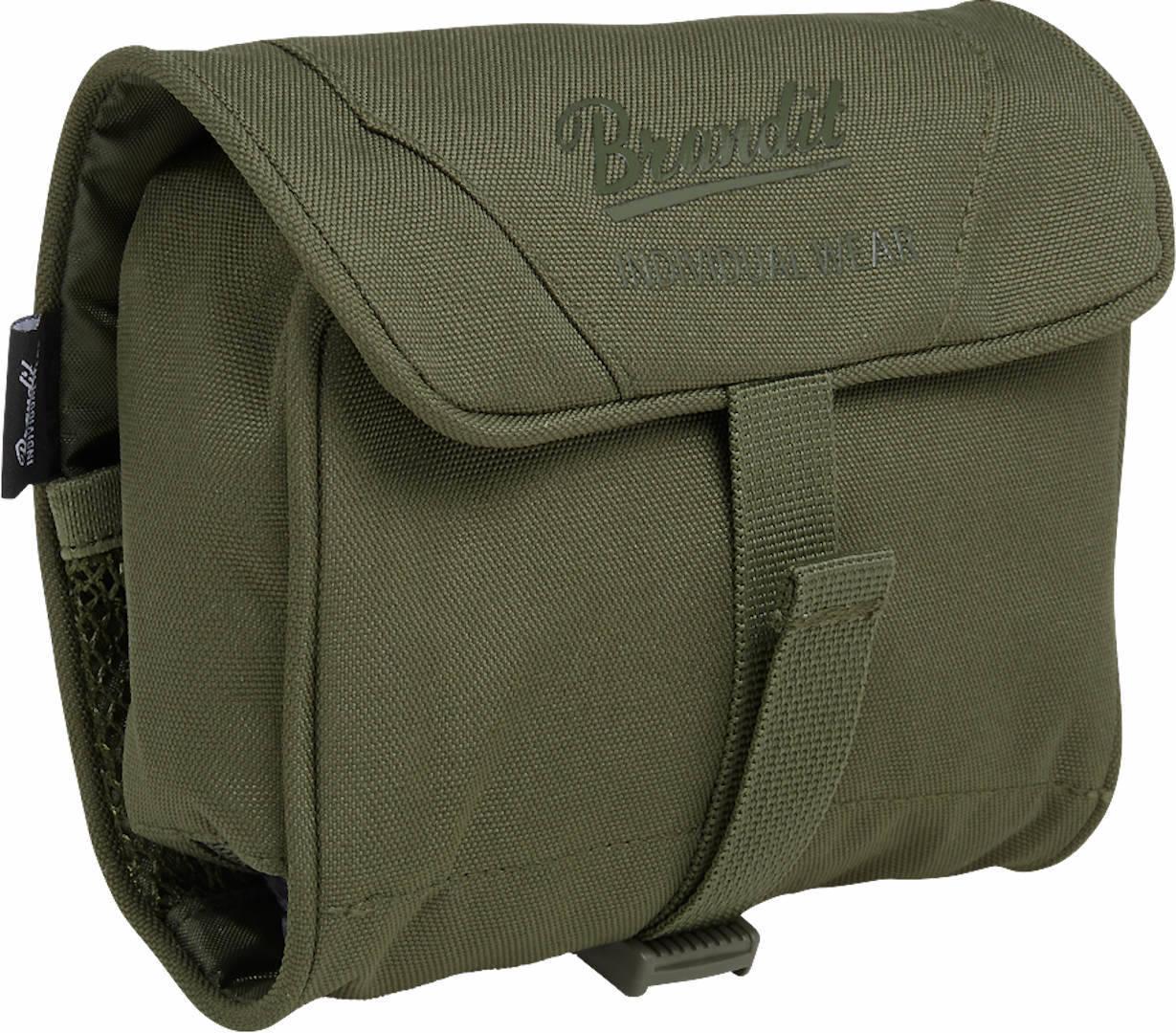 Brandit Medium Toiletti laukku  - Vihreä - Size: yksi koko