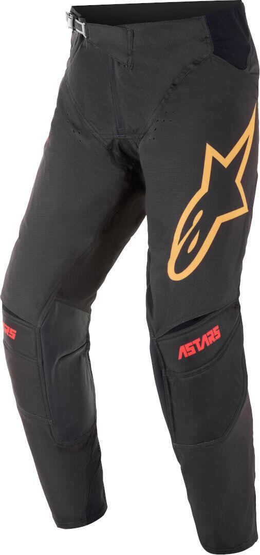 Alpinestars Techstar Venom Motocross housut  - Musta Punainen - Size: 28
