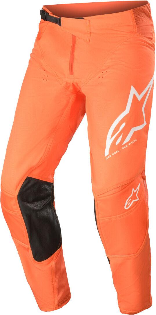 Alpinestars Techstar Factory Motocross housut  - Oranssi - Size: 34