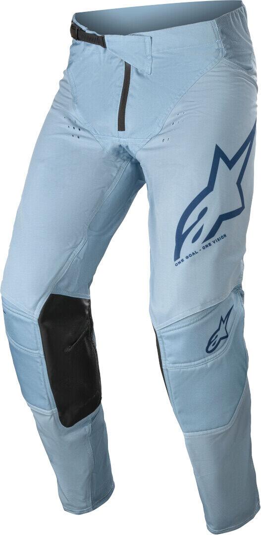 Alpinestars Techstar Factory Motocross housut  - Sininen - Size: 40