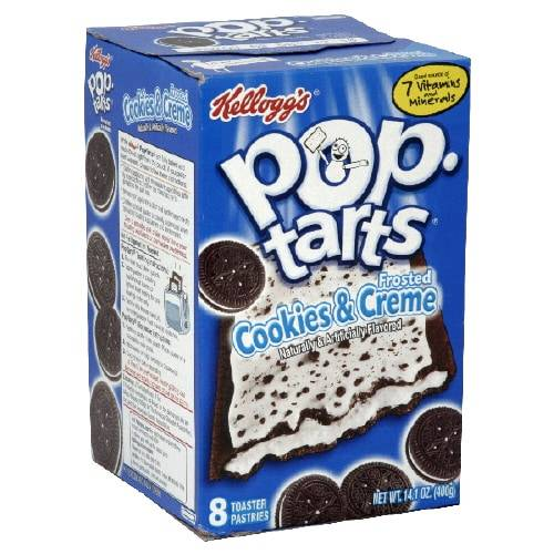 Kelloggs Pop-Tarts Frosted Cookies & Creme