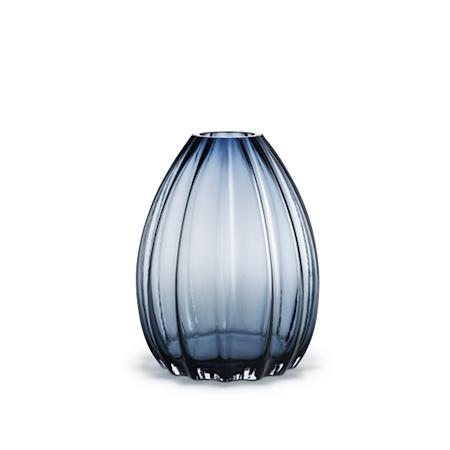 Holmegaard 2Lips Maljakko, korkeus 34 cm, Sininen