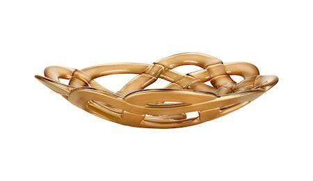 Kosta Boda Basket Kulho kulta Ø 38,5 cm