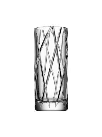 Orrefors Explicit Stripe Maljakko 25 cm