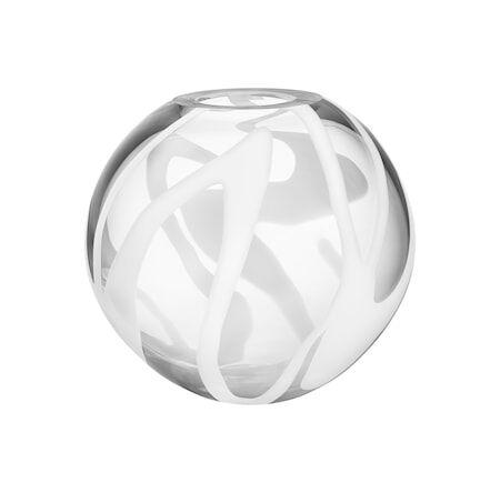 Kosta Boda Globe Maljakko, Valkoinen