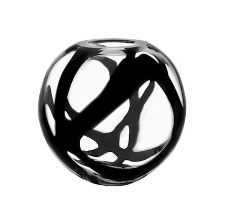 Kosta Boda Globe Maljakko, Musta