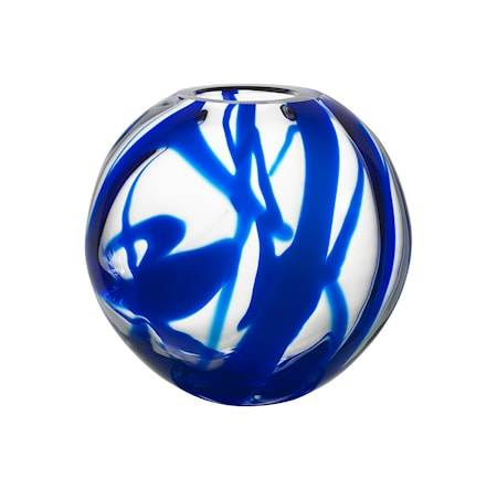 Kosta Boda Globe Maljakko, Sininen
