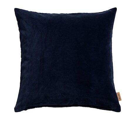MUUBS Sarah Tyyny Sametti 50x50 - Midnight blue