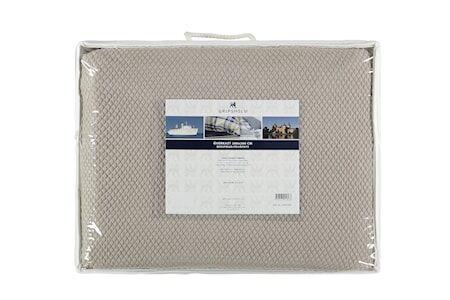 Gripsholm Päiväpeitto Lilly 260x260 cm - Vaaleanruskea