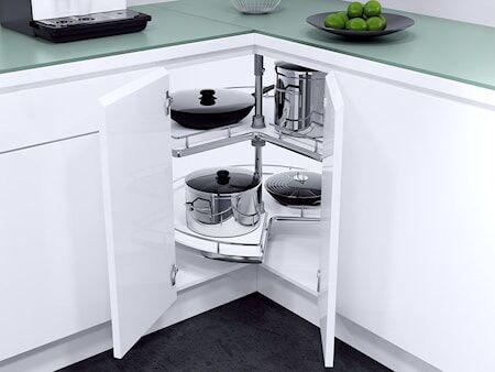 Beslag Design Recorner ¾ 820 Valkoinen/kromia