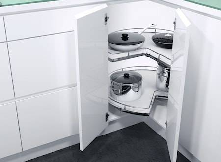 Beslag Design Recorner Maxx ¾ 760 Valkoinen/kromia