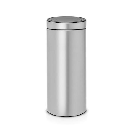 Brabantia Touch Bin Uusi, muovinen sisäämpäri 30 L metalli harmaa