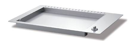 Airone Recessed griddle 700 mm