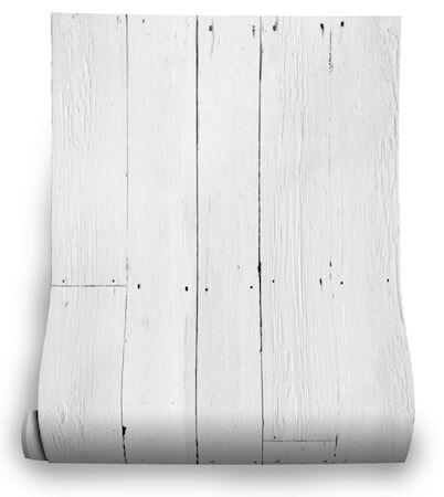 Mineheart White Plank Tapetti