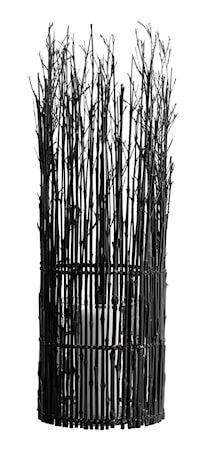 MUUBS Fishtrap Iso lyhty Bambu 65x20 cm - Musta