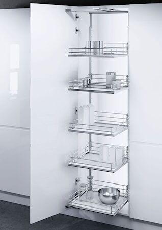 Beslag Design VSA 400 Korkeankaapin vedin 1700-1950 Valkoinen/kromia