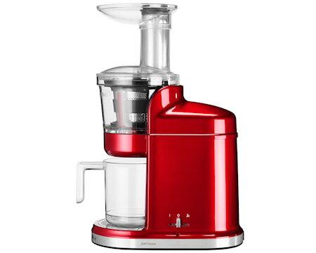 KitchenAid Artisan slow juicer punainen metalli