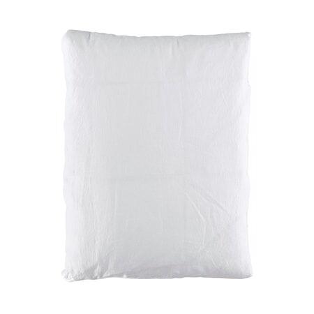Gripsholm Pussilakana pellava 150x210cm - Valkoinen