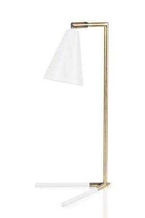JUST LIGHT Vega Pöytälamppu valkoinen